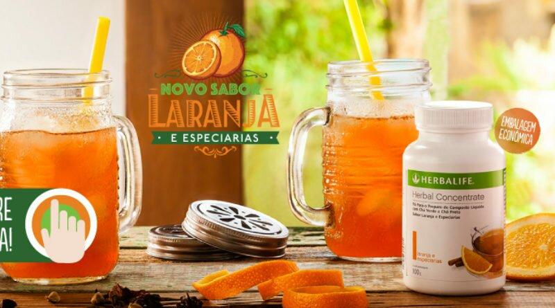 Herbal Concentrate Laranja com Especiarias - Clube das Comadres