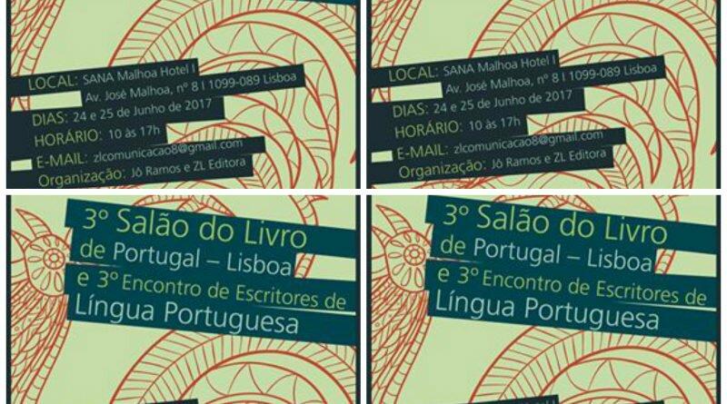 Salão do livro em Portugal com autores brasileiros - Clube das Comadres