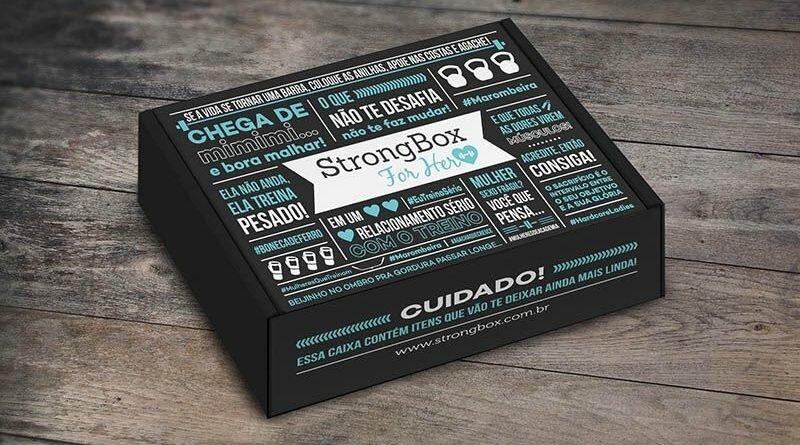 StrongBox, um clube de assinaturas fitness - Clube das Comadres