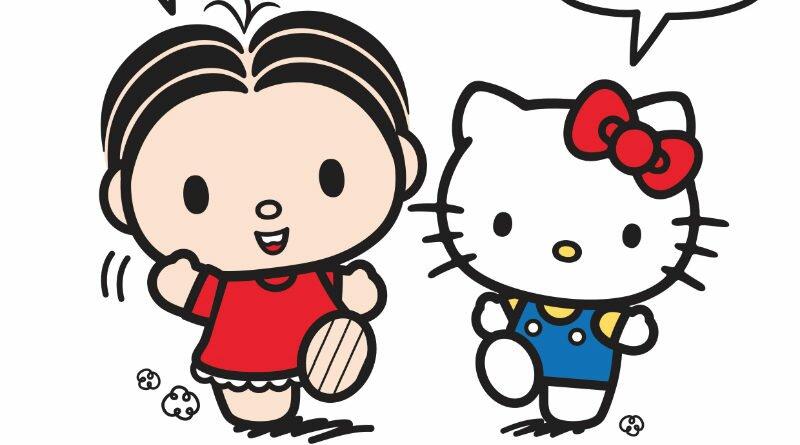 Hello Kitty-Mônica-parceria