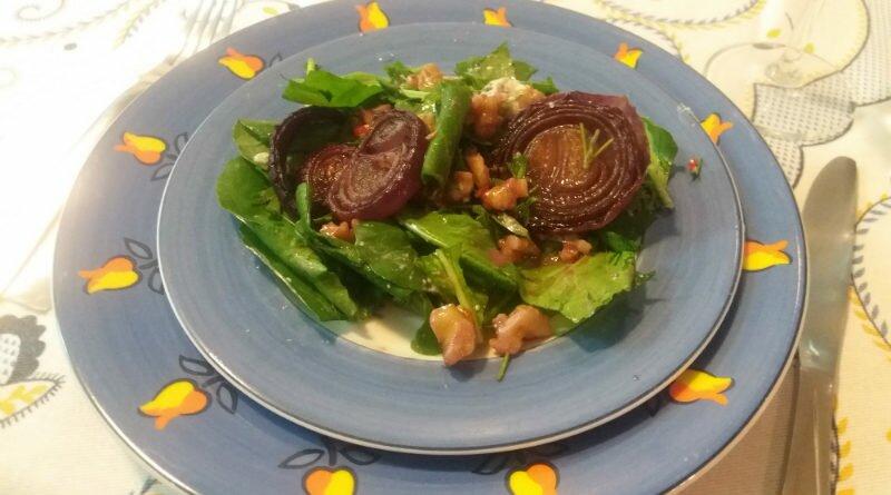 Salada sofisticada de cebola que impressiona - Clube das Comadres