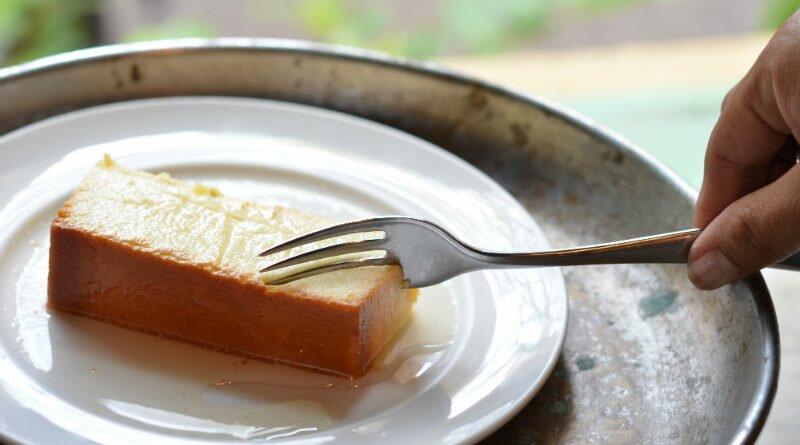 Pudim de queijo da canastra e raspas de limão - Clube das Comadres