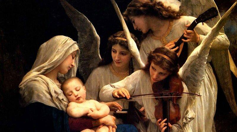 Nossa Senhora, Rainha dos Anjos maio é seu mês - Clube das Comadres