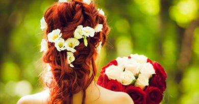 Penteados de noivas com acessórios da moda - Clube das Comadres