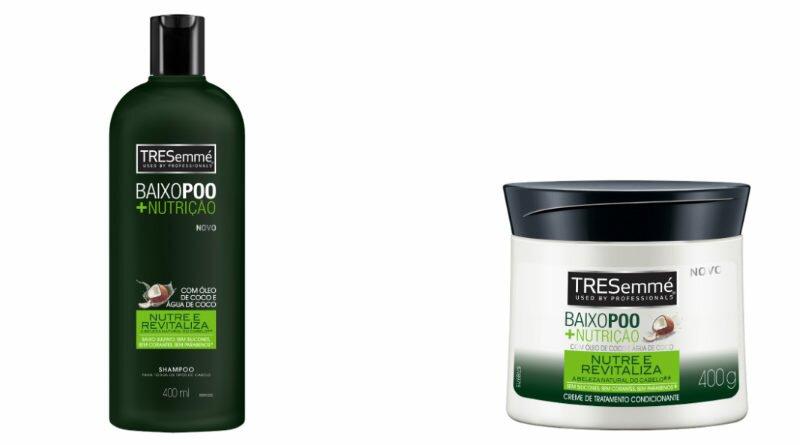 9a253f38abecc TRESemmé Baixo Poo + Nutrição para os cabelos