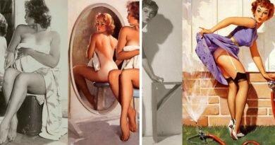 Pin-ups, referências de sensualidade e glamour