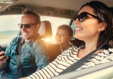 Viagens de carro em família com tranquilidade