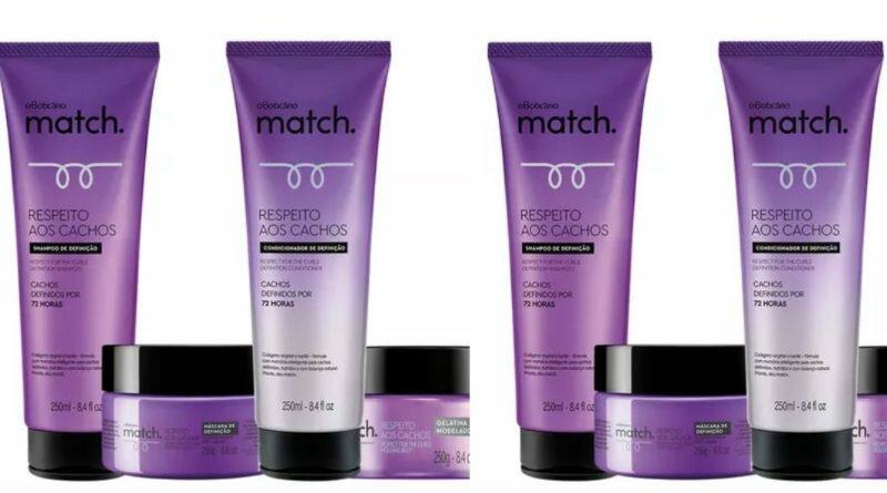 Match Respeito aos Cachos - O Boticário - cabelos