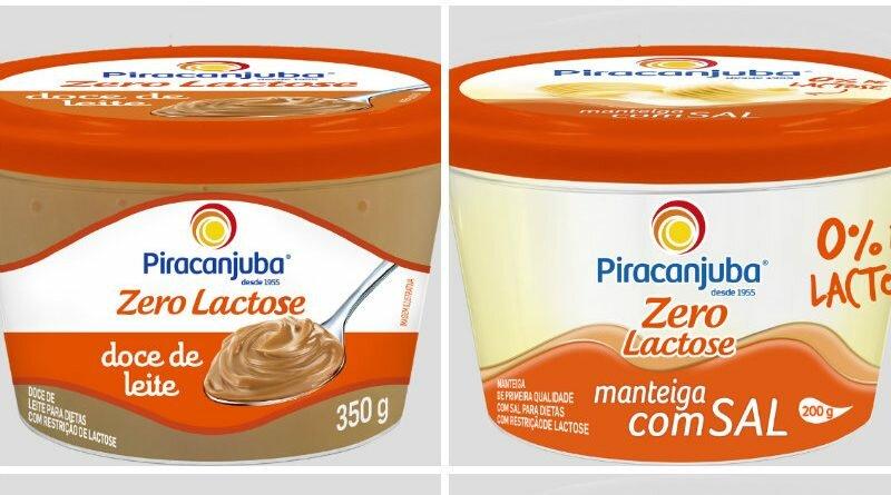 Piracanjuba Zero Lactose - manteiga