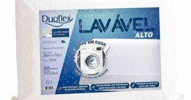 Travesseiro lavável - lançamento - duoflex