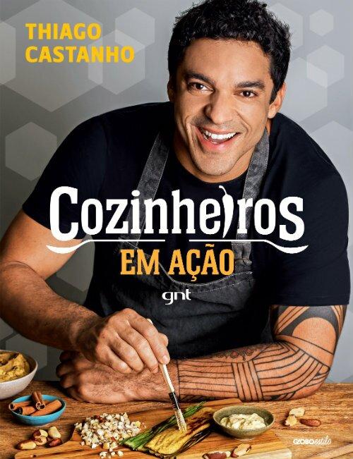 Cozinheiros em ação - livro - receitas