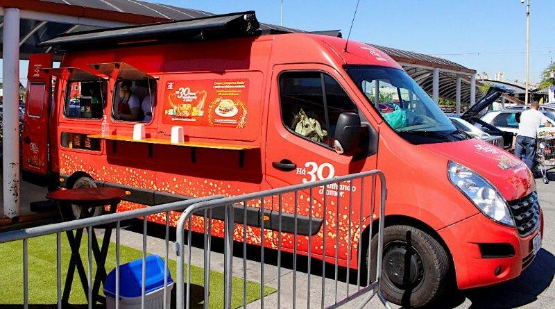 Food Truck Sazón - 30 anos - comemoração