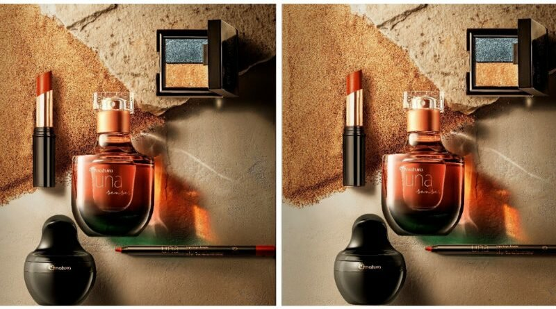 Natura Una Senses - lançamento - perfume - maquiagem