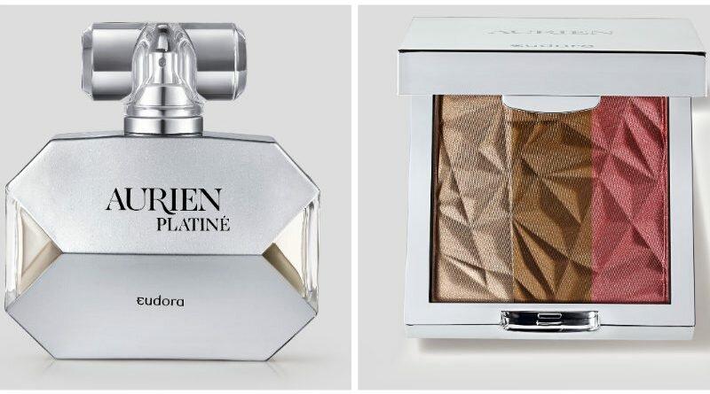 Aurien Platiné, nova linha de produtos da Eudora